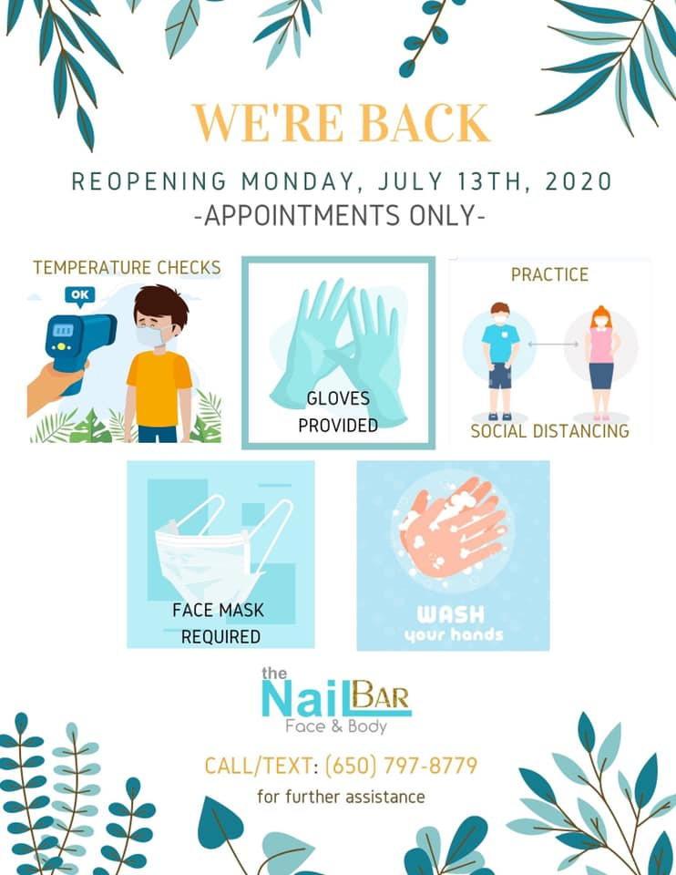 The Nail Bar is Reopening Soon!